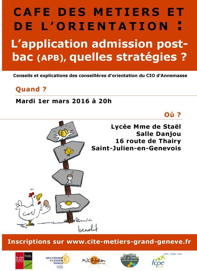 affiche café métiers 1er mars